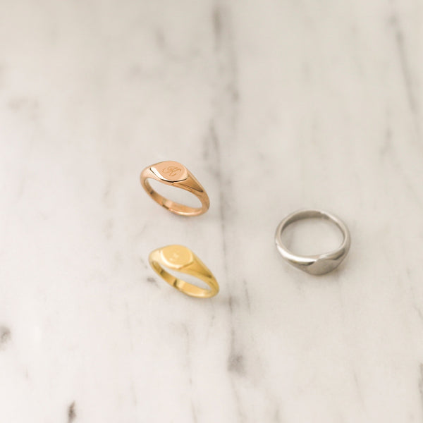 Mini Signet Ring | Made Different Co | Singapore Personalised Jewellery