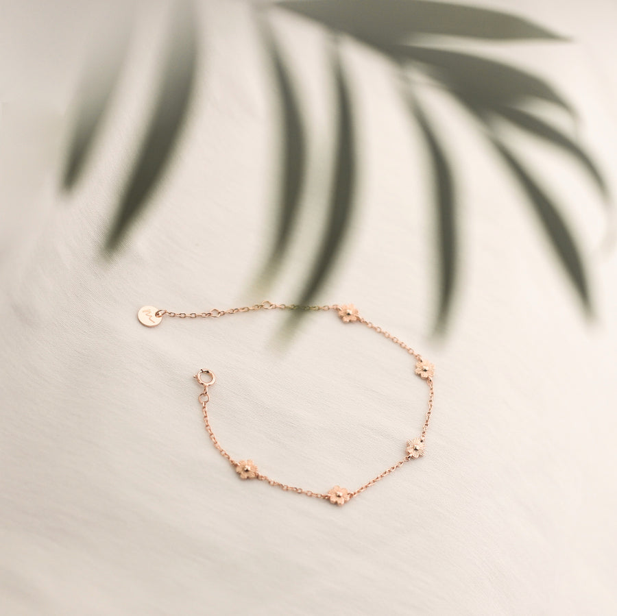 Calla Bloom Bracelet | Made Different Co | Singapore Personalised Jewellery