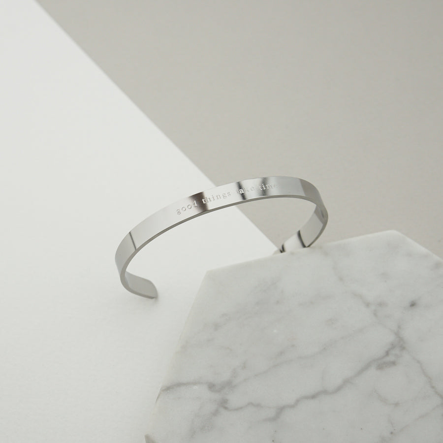 Signature Classic Bangle (Previous Edition) - Made Different Co Personalised Jewellery