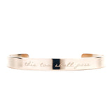 Signature Classic Bangle - MADEDIFFERENTCO PERSONALISED JEWELRY