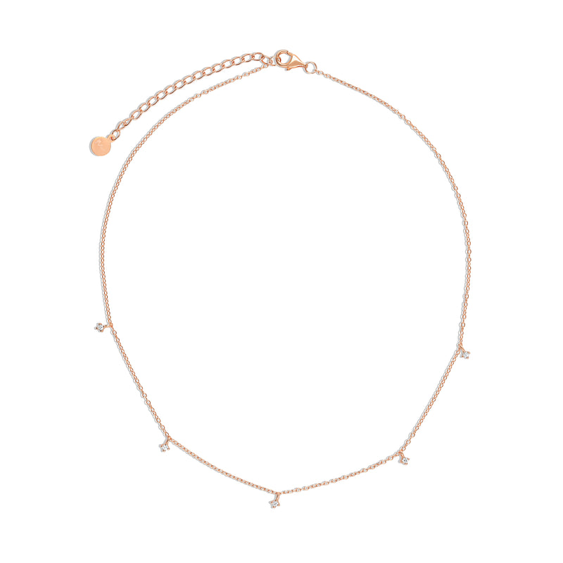 Rayna Cubic Necklace