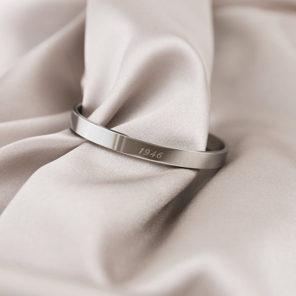 Signature Classic Bangle | Made Different Co | Singapore Personalised Jewellery