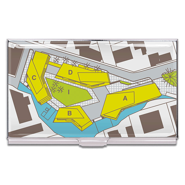 """Site Plan"" Card Case"