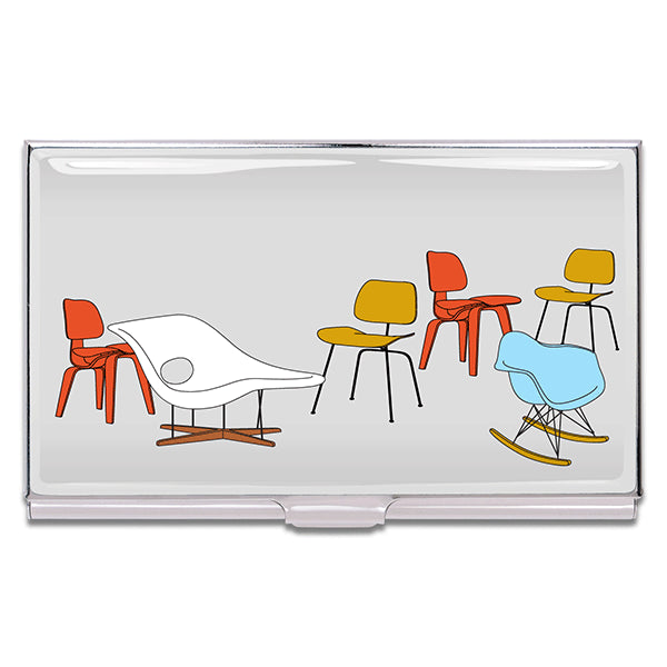 """Eames Chairs"" Card Case"