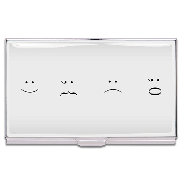 """Faces"" Card Case"