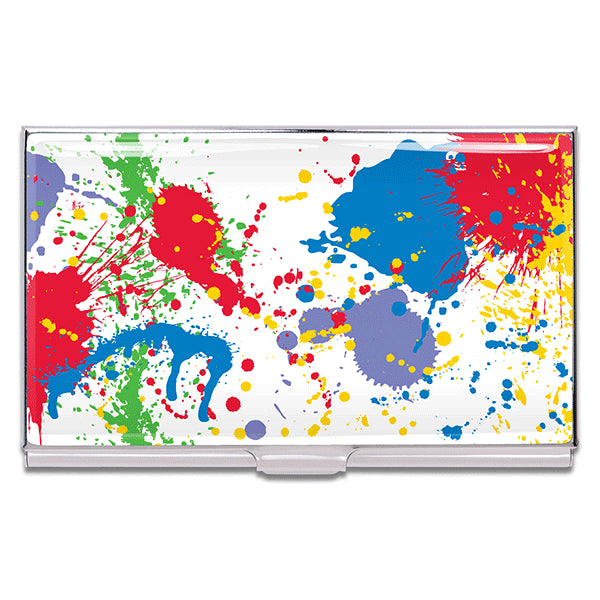 """Paint Splash"" Card Case"