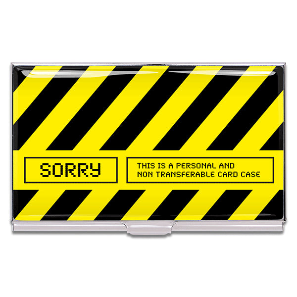 """Sorry"" Card Case"