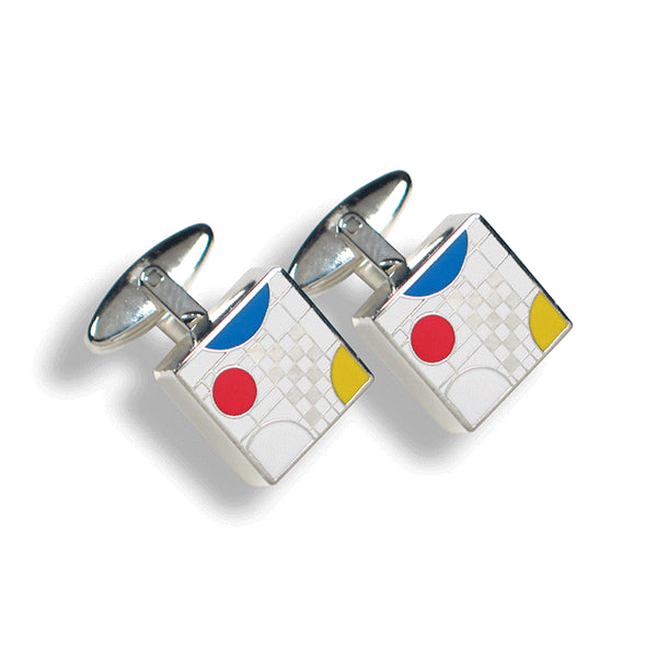 """Playhouse White"" Cufflinks"