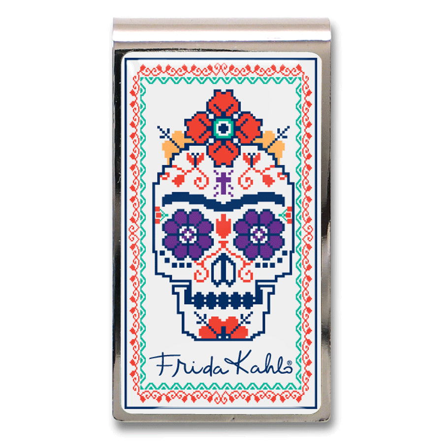 """Sugar Skull"" Money Clip"
