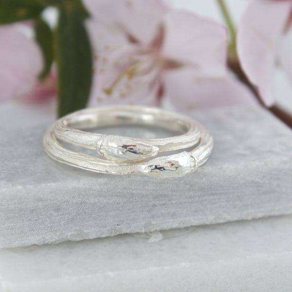 Sterling Silver Willow Twig Ring