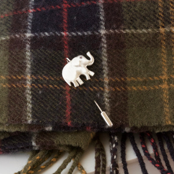 lucky elephant pin