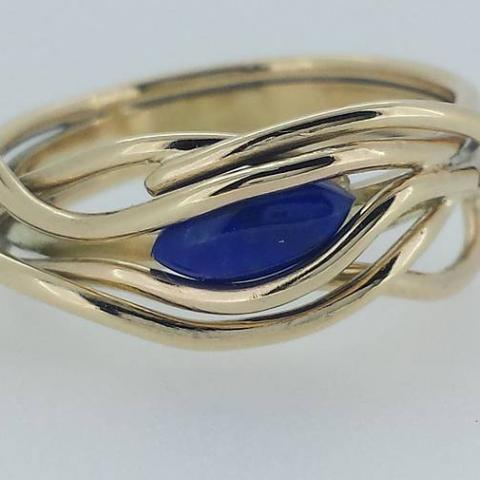 Gold Entwined Ring