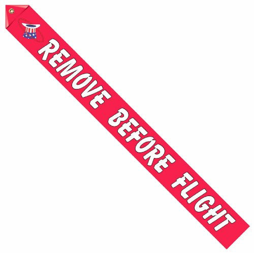 94th Aero Squadron Insignia Remove Before Flight Streamer