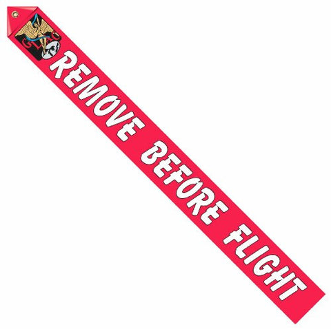 Great Lakes Logo Remove Before Flight Streamer