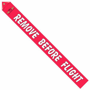American WACO Club Logo Remove Before Flight Streamer