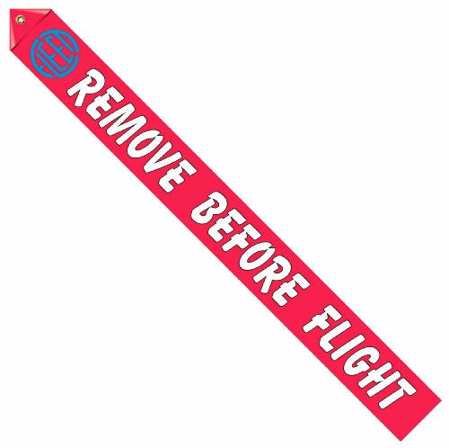 Fleet Logo Remove Before Flight Streamer