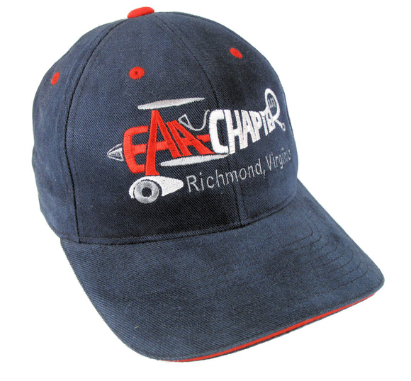 EAA Chapter 231 Logo on a Navy/Red Cap