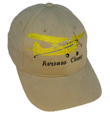 Aeronca Champ 7-EC on a Khaki Cap