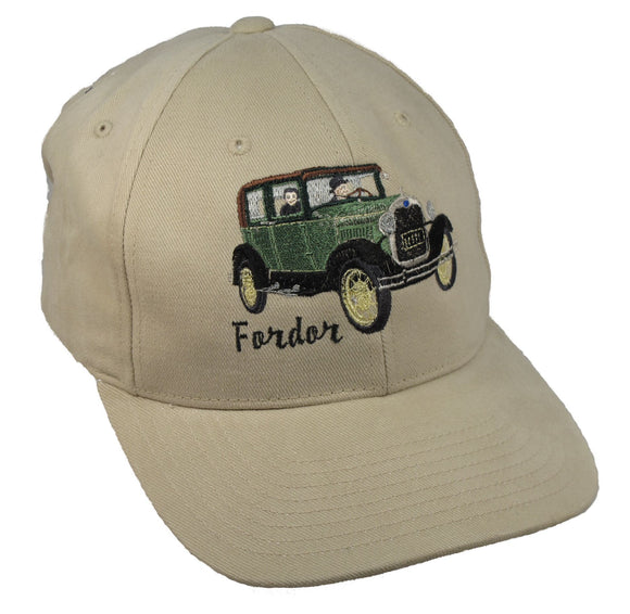 Ford Model A Fordor on a Putty Cap