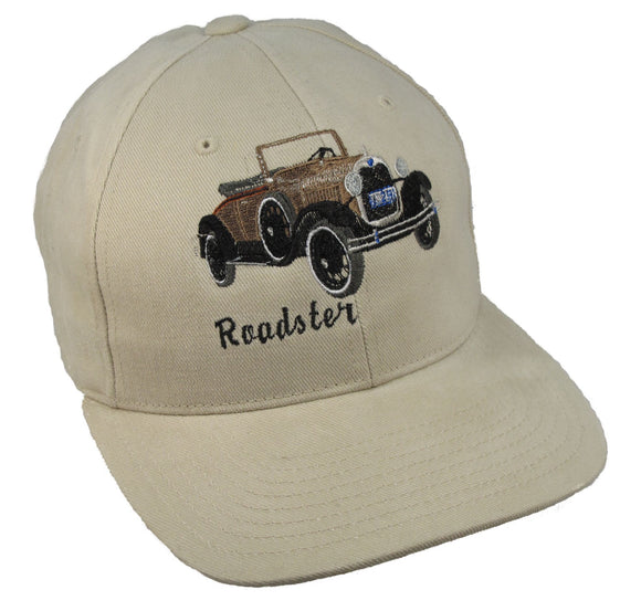 Ford Model A Roadster on a Khaki Cap
