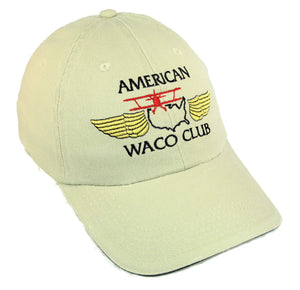 American WACO Club Logo on a Stone/Navy Cap