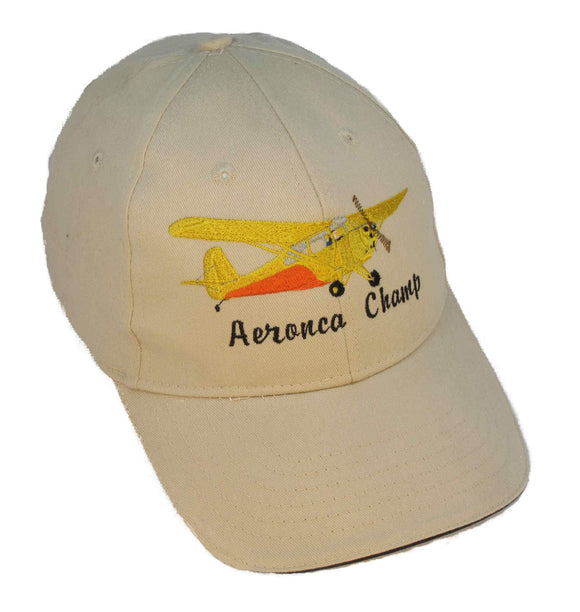 Aeronca Champ 7-AC on a Stone/Navy Cap
