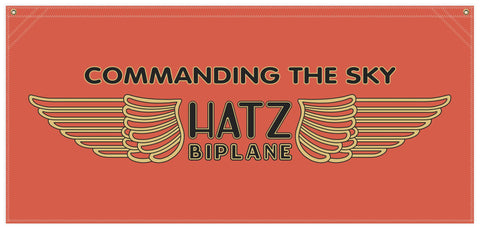 Hatz Airplane - Banner
