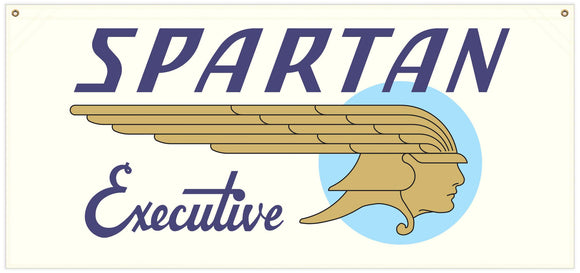 54 in. x 25 in. Spartan Executive - Cotton Banner