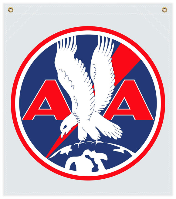 22 in. x 25 in. American Airlines - Cotton Banner