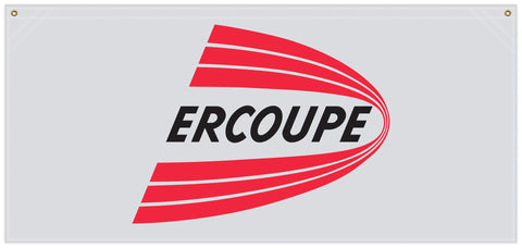 54 in. x 25 in. Ercoupe - Cotton Banner