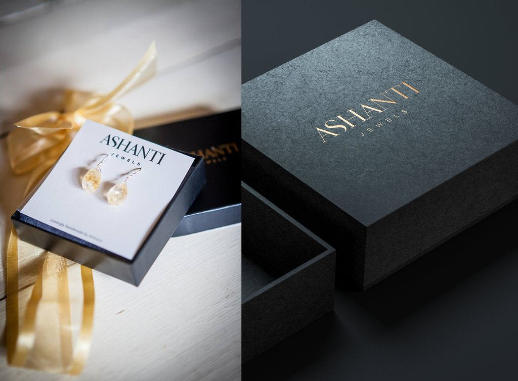 ASHANTI Jewels jewelry packaging
