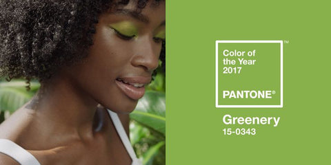 Peridot Green 2017 Hot trends Pantone color of the year
