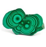 Malachite gemstone jewelry