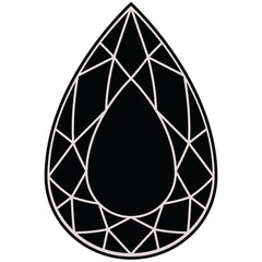 Pear shape gemstones and jewelry