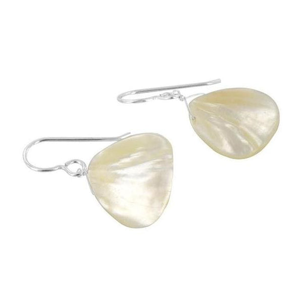 Mother of Pearl Earrings | White Earrings | June Birthstones - Earrings