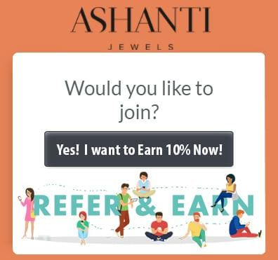 ASHANTI Jewels Affiliate Program