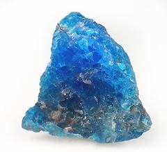 Apatite gemstone crystal