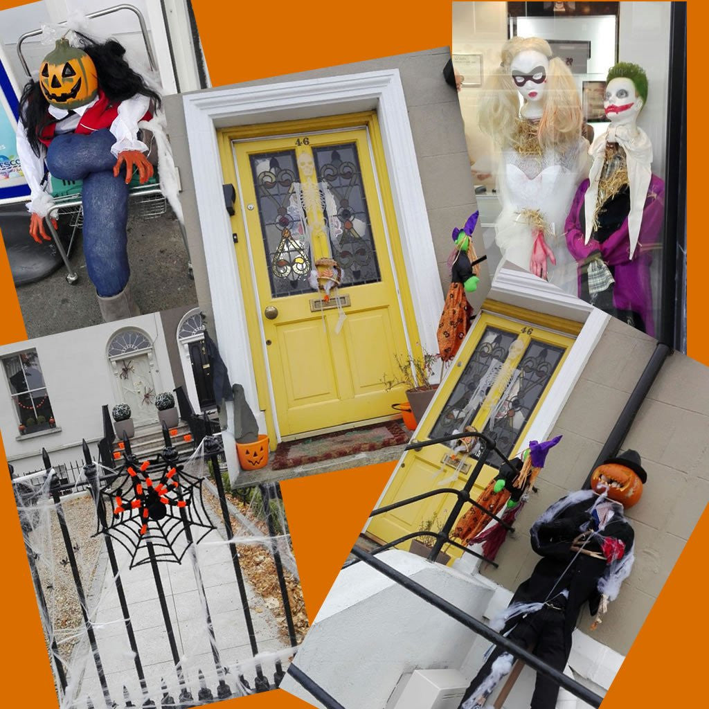 Decoración de Halloween en Irlanda