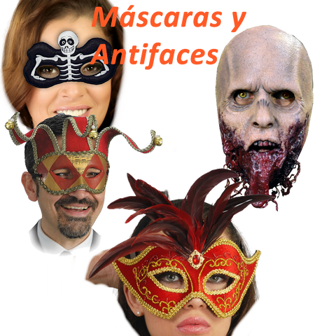Antifaces y Máscaras