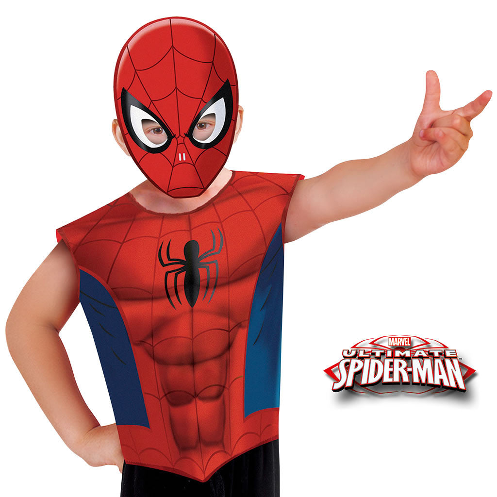 Conjunto Spiderman infantil