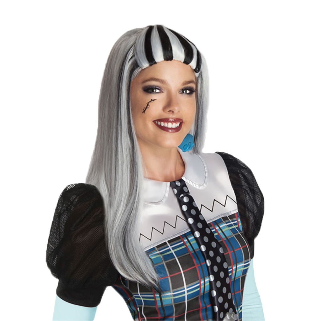 Peluca Frankie de Monster High para adultos