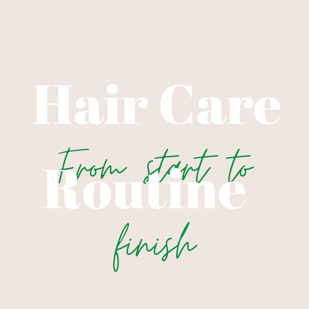 What about your hair care routine?