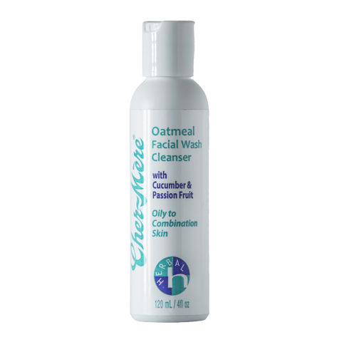 Oatmeal Facial Wash Cleanser with Cucumber and Passion Fruit - Cher-Mere Canada