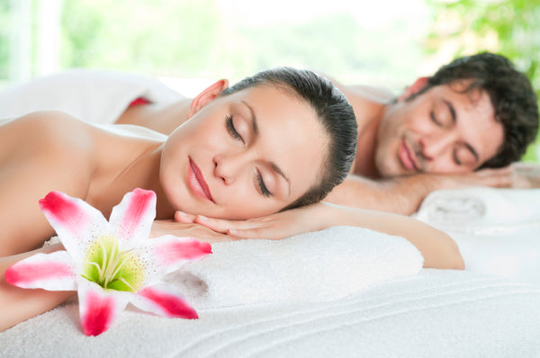 Couples Deluxe Aromatherapy Massage - Tranquility for two
