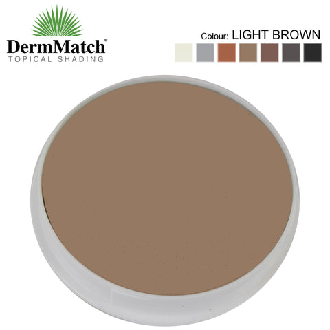 DermMatch LIGHT BROWN Hair Loss Concealer (40g)