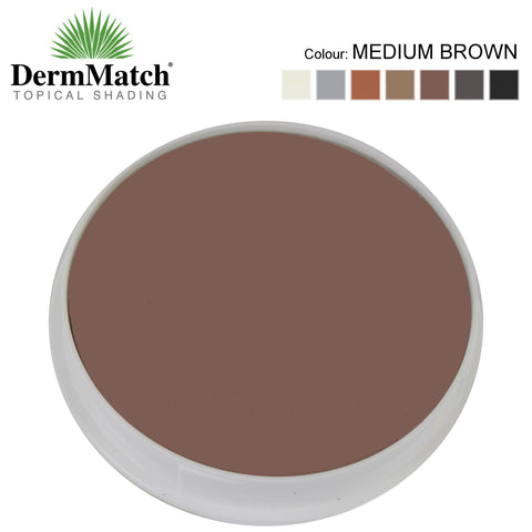 DermMatch MEDIUM BROWN Hair Loss Concealer (40g)