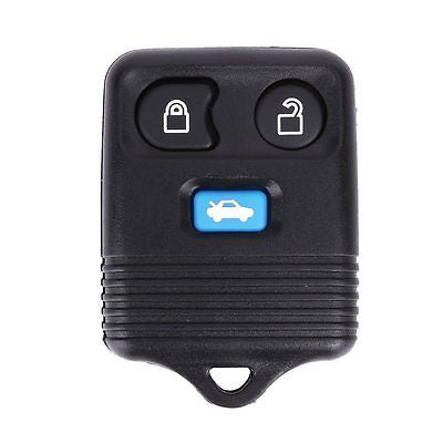 Ford Transit Connect 3 button remote key fob case with blue button