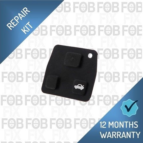 Toyota key fob replacement rubber button pad