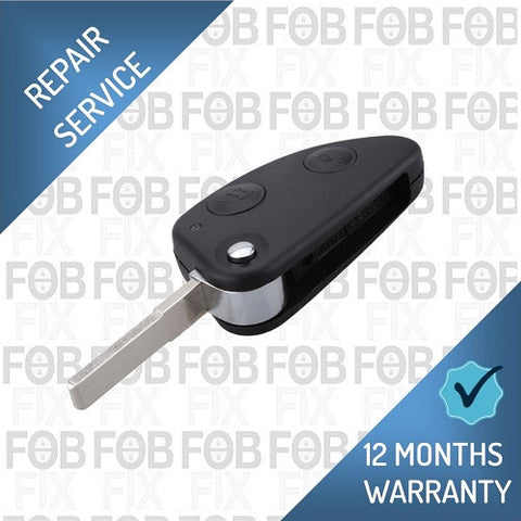 Alfa Romeo 2 button key fob repair service