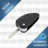 Alfa Romeo 3 button key fob repair service